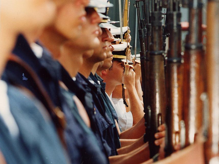 Asociados del PAHUAR - Instrucción militar
