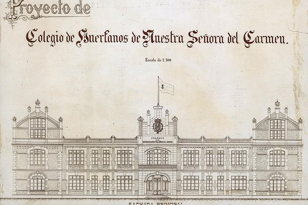 Historia del PAHUAR - Colegio de Huérfanos de Nuestra Señora del Carmen