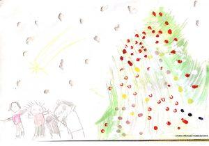 Ganador III Concurso Tarjetas de Navidad Aitana Inaguazu