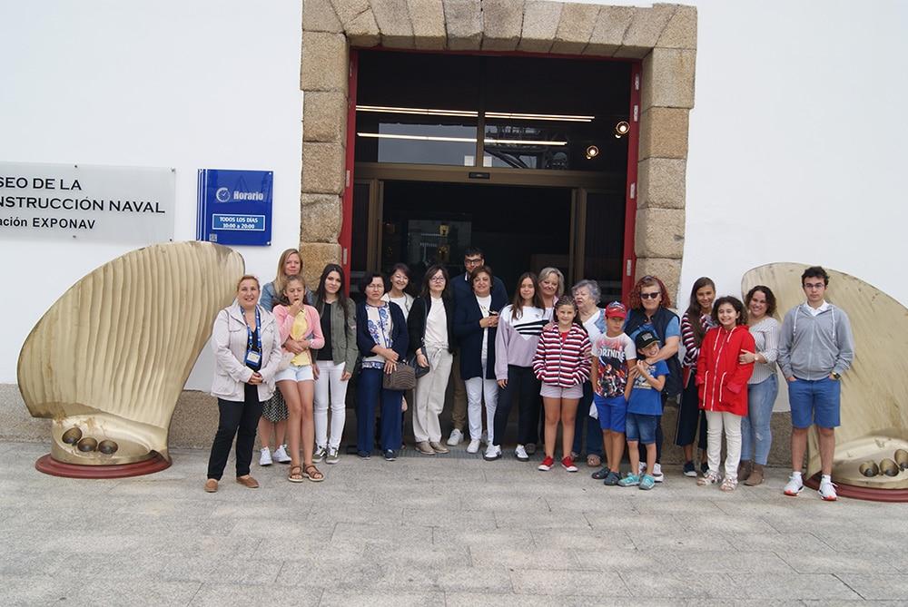 Visita al Museo de Construcción Naval