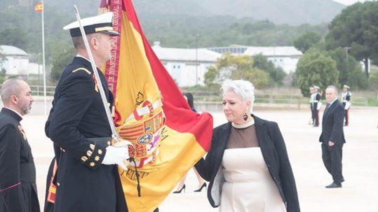 Jura de bandera de nuestros huérfanos - Delegación de Cartagena de PAHUAR